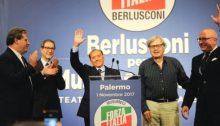 Palermo berlusconi musumeci sgarbi armao micciché 490